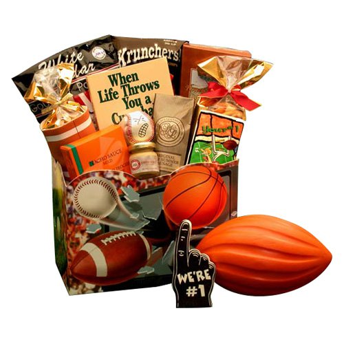 All Star Sports Gift Box by Gift Basket Drop Shipping