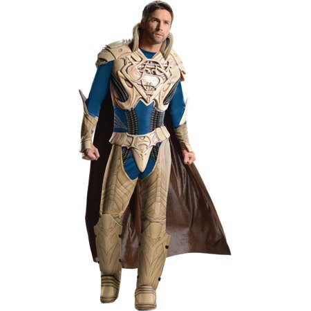 Adult Mens Deluxe Man of Steel Superman JorEl Jor El Jor-El Costume