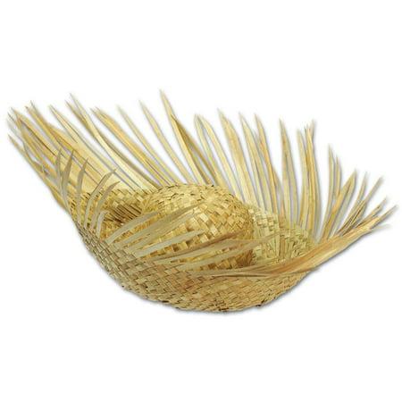 Beachcomber Hats ((Pack of 96) Luau Party Beachcomber Straw)