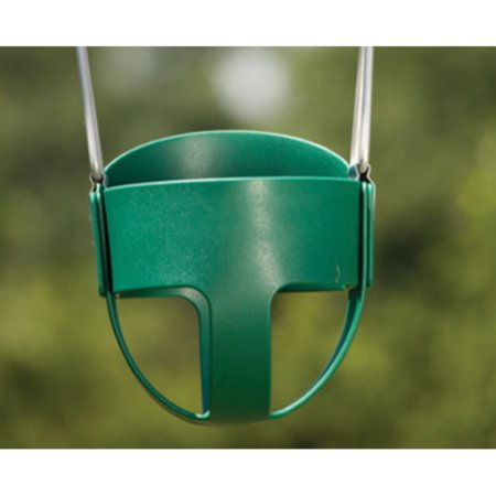 Kids Creations Green Baby Swing