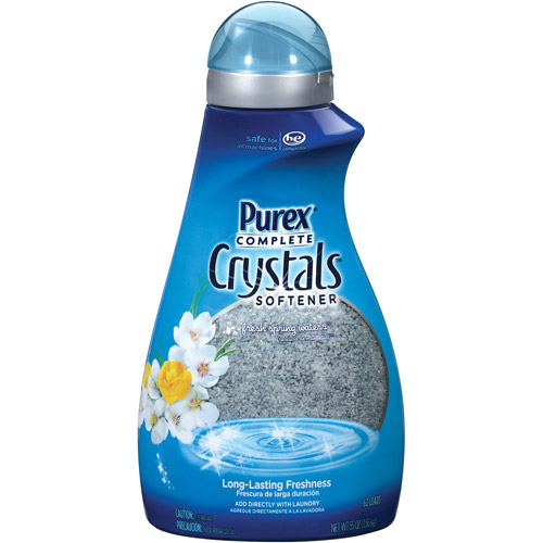 Purex Complete Crystals Fresh Spring Waters Laundry Enhancer, 55 oz