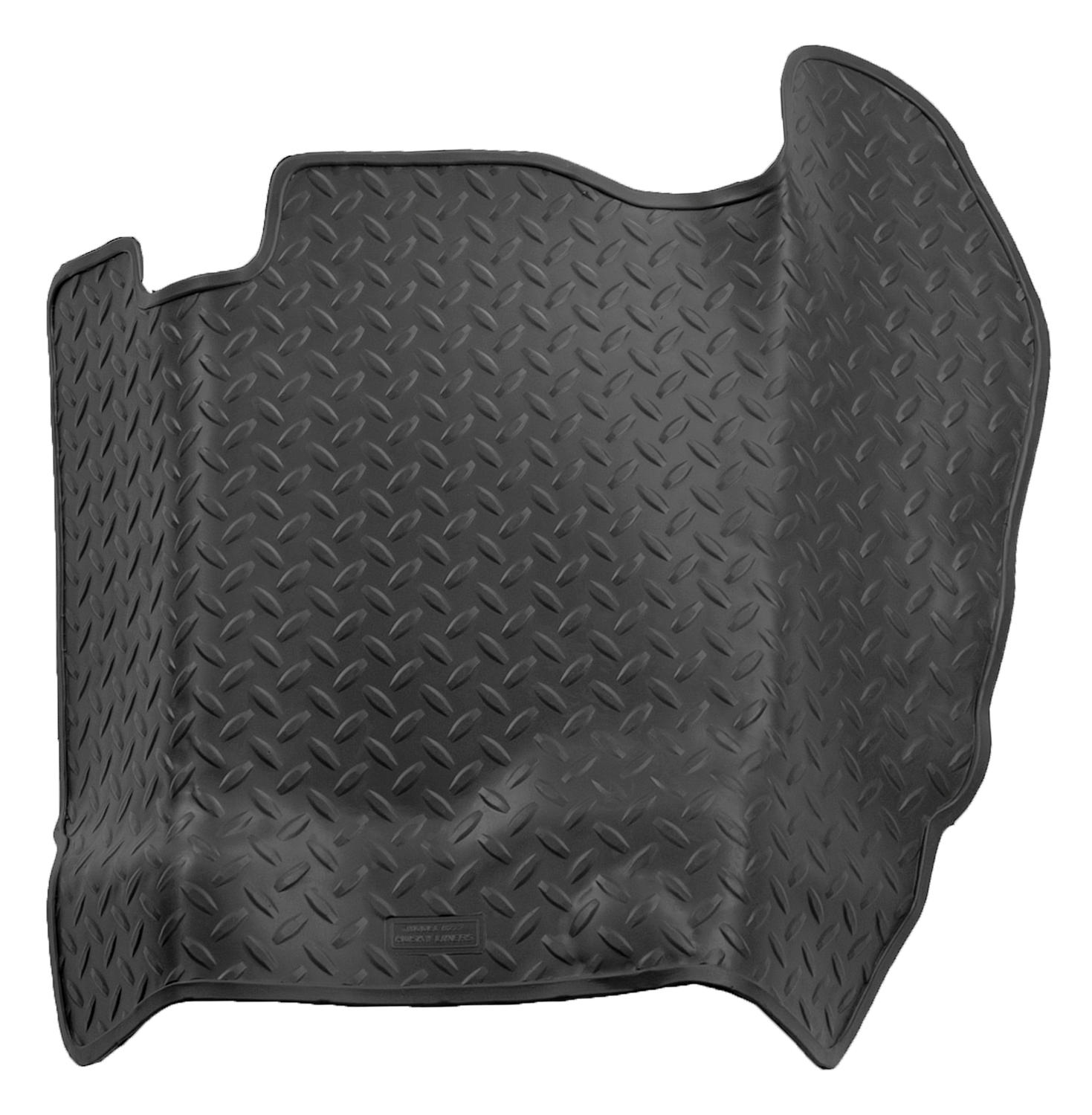 Husky Liners 87-96 Ford Truck/80-96 Bronco (Auto Trans.) Classic Style Center Hump Black Floor Liner