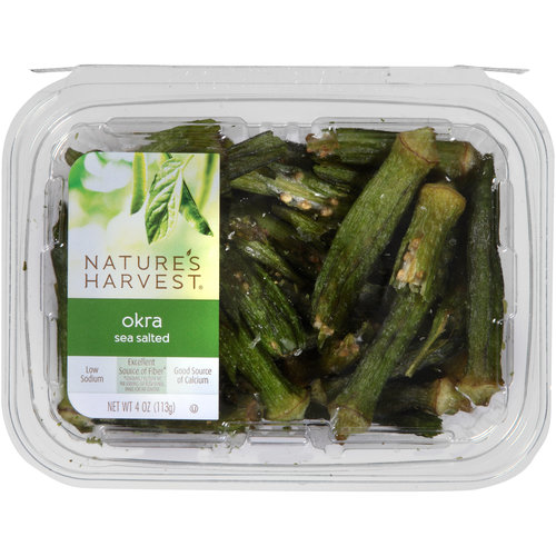 harvest sea salted okra - How To Freeze Fresh Okra
