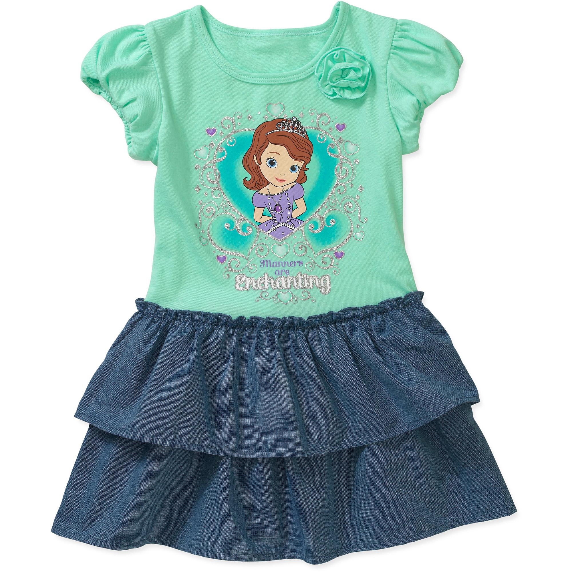 Nickelodeon Baby Girls' Dora Tee Shirt Dress