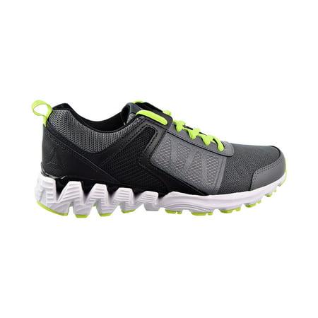 Reebok Zig Kick 2018 Big Kids Shoes Alloy/Black/Neon Lime cn7759