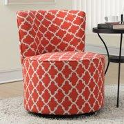 Monarch Specialties Lantern Swivel Accent Chair