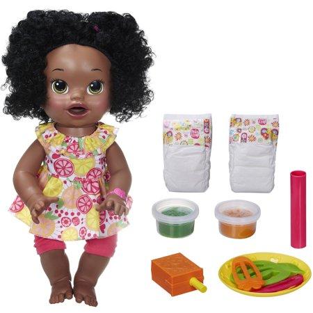 Baby Alive Super Snacks Snackin Sara Doll African