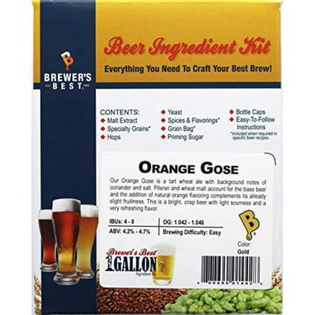 Brewer's Best Orange Gose One Gallon Beer Ingredient