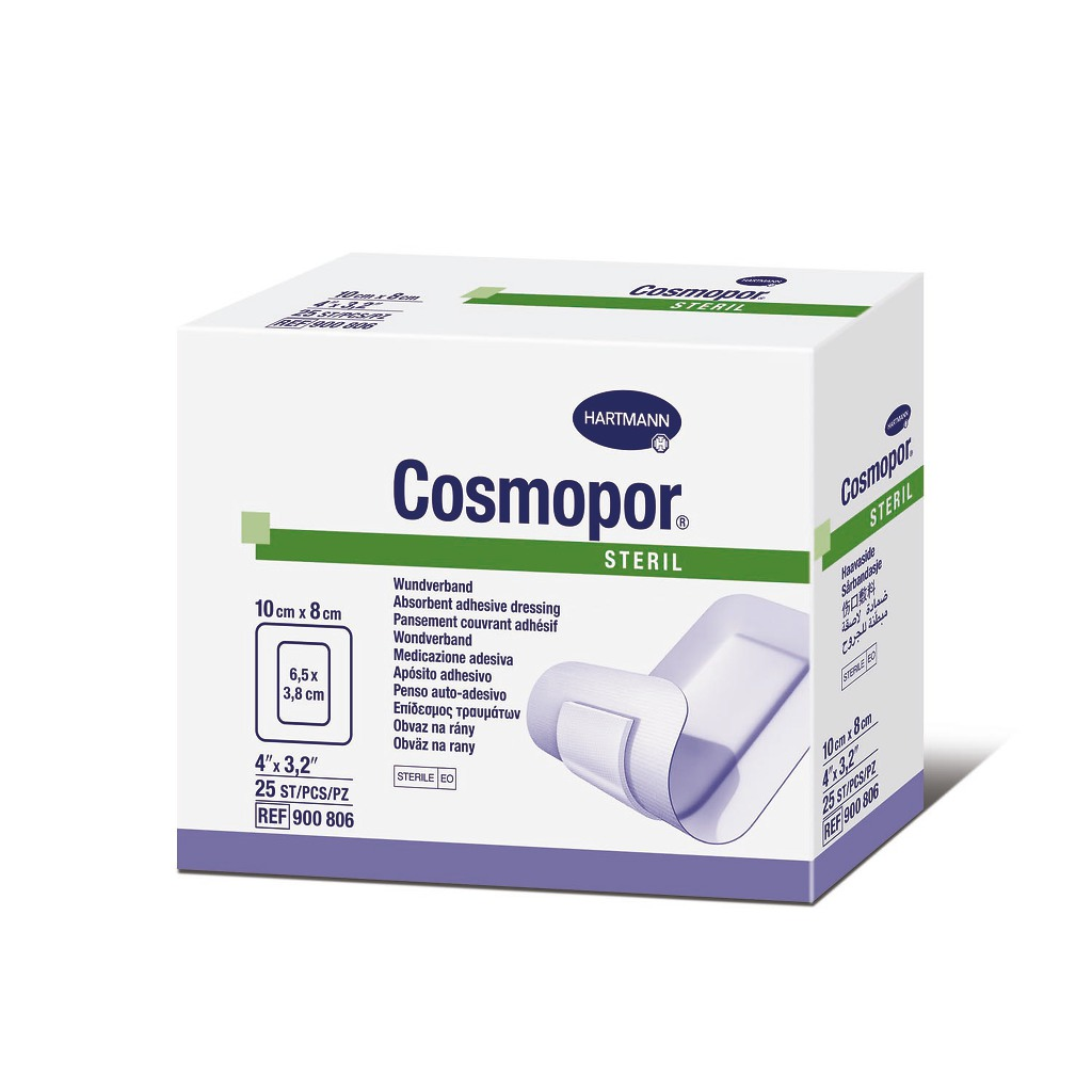Cosmopor Adhesive Dressing 900806 Box of 25, White