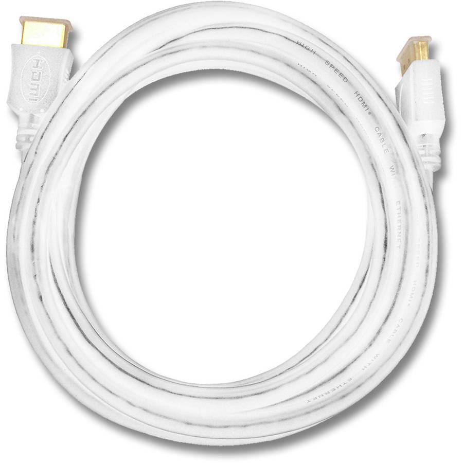 QualGear QG-CBL-HD14-High Speed HDMI 1.4 Cable, 4Kx2K, 3D, Ethernet, Audio Return Channel, 10'