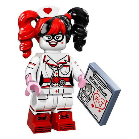 DC LEGO Batman Movie Harley Quinn Minifigure [Nurse]](Harley Quinn Nurse)