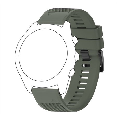 Soft Silicone Strap Replacement Watch Band For Garmin Approach S60