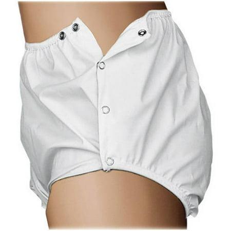 Quik Sorb™ Snap Closure Reusable Incontinent Pants - Large