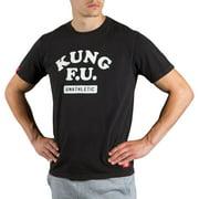 Scramble Kung F.U. T-Shirt - Black