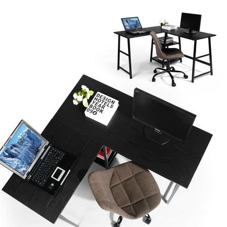 FurnitureR L-Shape Executive Desk & Corner Desk Writing Desk Computer Desk For Home Office - image 2 of 8