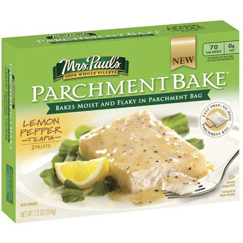 Mrs Pauls Mpk Parchment Lemon Pepper Tilapia