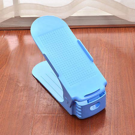 Adjustable Shoe rack Double deck shoe pocket