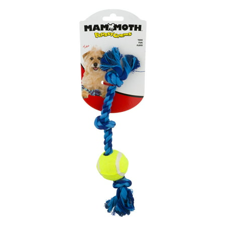 Mammoth Flossy Chews Toss Tug Floss, 1.0 CT ()