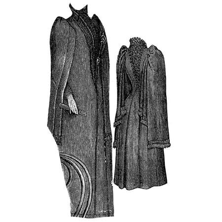 Sewing Pattern: 1891 Cloak for Elderly Lady Pattern - Gandalf Cloak Pattern