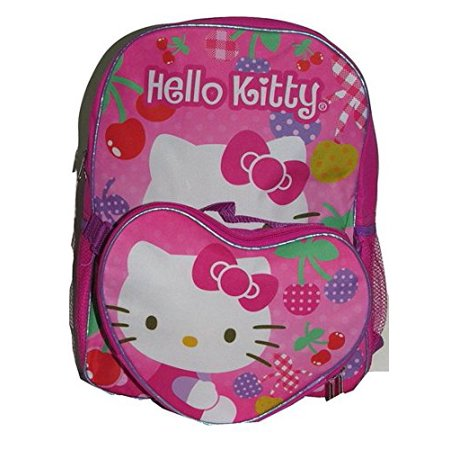Backpack - Hello Kitty - Cherry Pink w/Lunch Bag 16