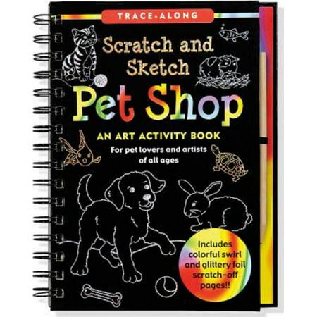 PET SHOP SCRATCH](Scratch Art Ideas)