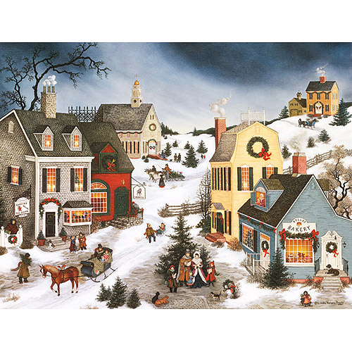Lang Caroling in the Village Boxed Christmas Cards