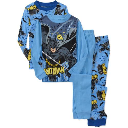 Dc Comics - Boys' Batman 4 Piece Cotton