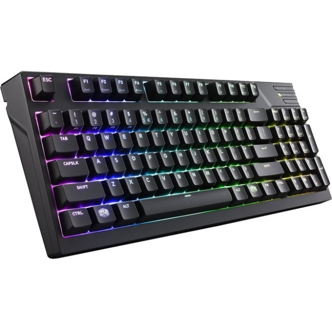 Cooler Master MasterKeys Pro M RGB Mechanical Gaming Keyboard, Cherry MX Brown, RGB LED, TenKey (Medium)