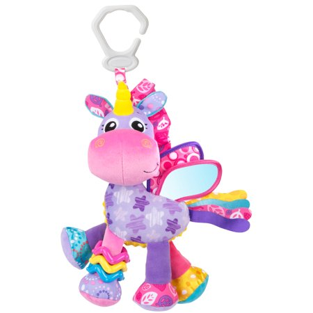 Flutter Activity Toy - Playgro Activity Friend Stella Unicorn, STEM Toy for a bright future