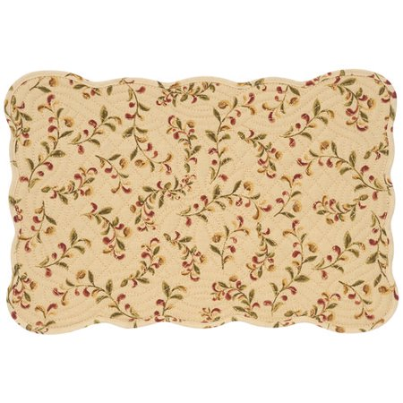 Better Homes Gardens Bh G Tuscan Scroll Quilted Placemat