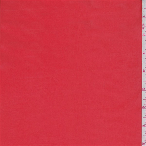 Tangerine Polyester Lining, Fabric By the Yard