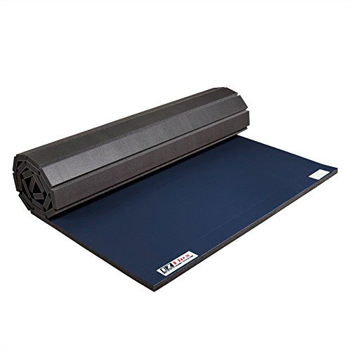 """IncStores Roll Out Wrestling and Tumbling Mats 4' x 6' x 1- 5/8"""""""