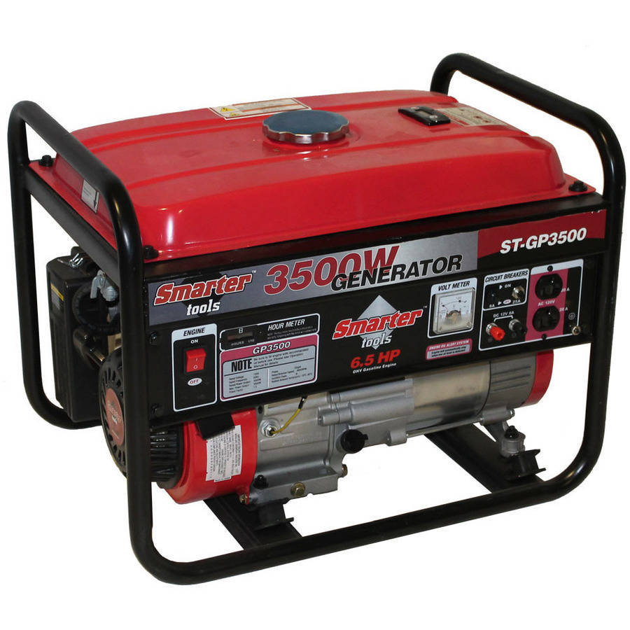 Smarter Tools 3500W Portable Gasoline Generator