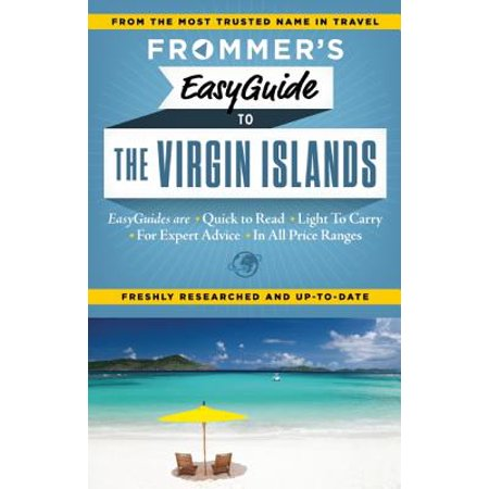 Frommer's easyguide to the virgin islands - paperback: 9781628870688