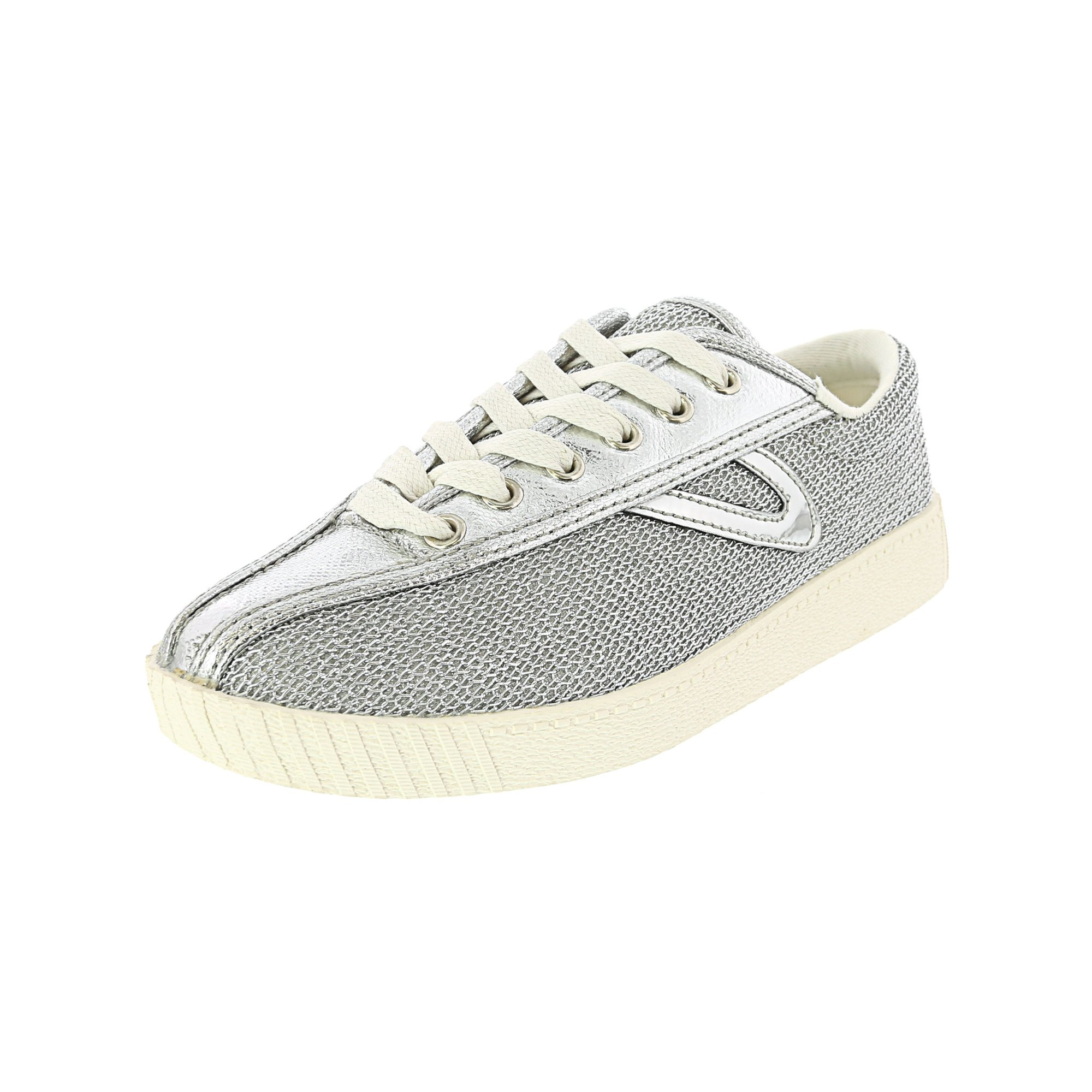 Tretorn Nylite 17 Plus Metallic Mesh Fashion Sneaker 8M Plata 765 Plata 1 Plata 1