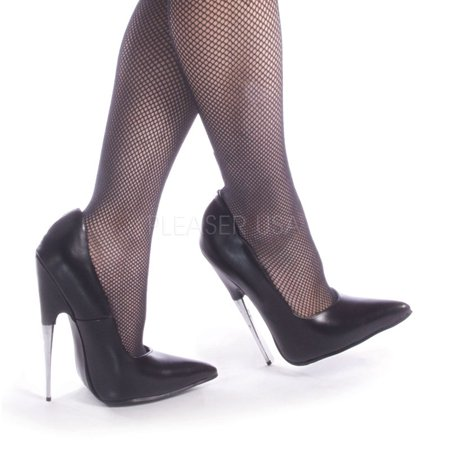 Scream-01, 6'' Spike Steel Heel Polyurethane Shoes - Scream Heels