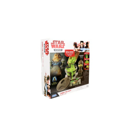 Star Wars Jabba The Hutt Slime Lab - Uncle Milton Scientific Educational Toy