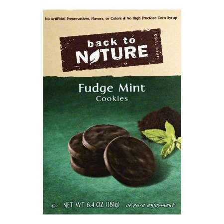 Back to nature fudge mint cookies, 6.4 oz, (pack of 6)