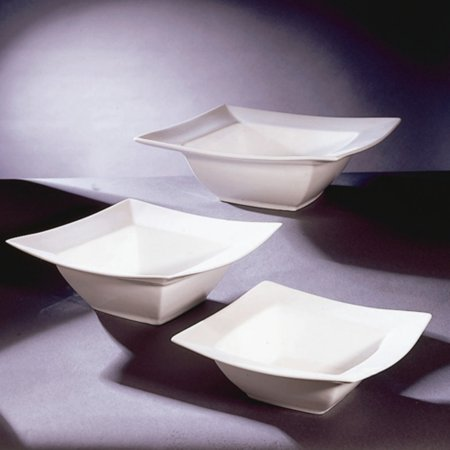 10 Strawberry Street Square Rim Bowls - Set of 4