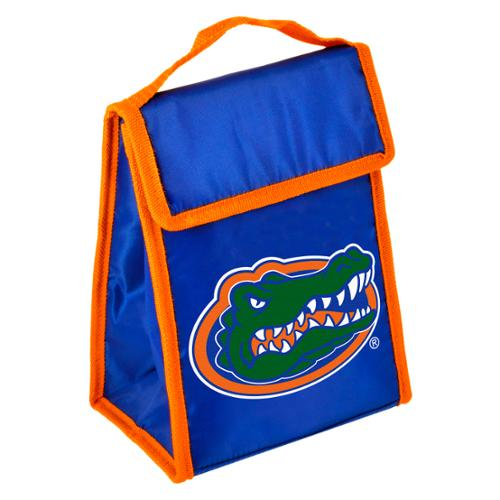 Florida Gators Official NCAA 9 inch x 7 inch x 5 inch  Insulated  Velcro Lunch Box Lunchbox Bag by Forever Collectibles