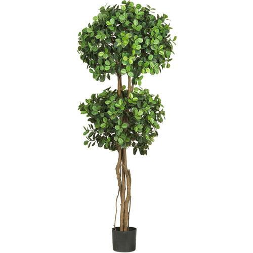 Eucalyptus Double Ball Topiary Silk Tree