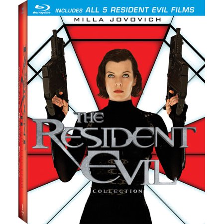 The Resident Evil Collection  Blu Ray