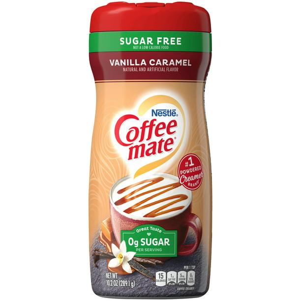 Nestle Coffee mate Vanilla Caramel Sugar Free Powder ...