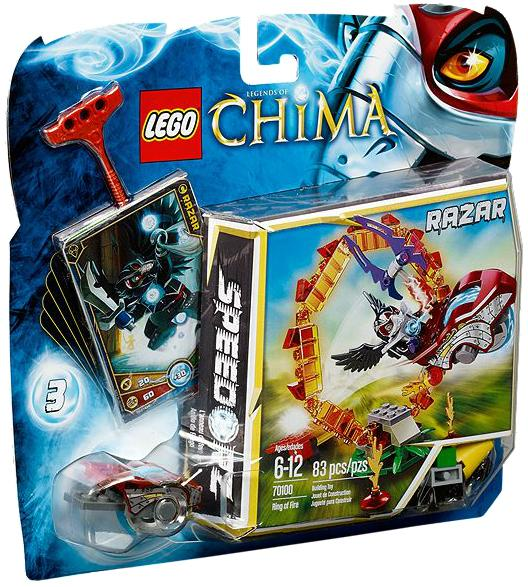 Legends of Chima Ring of Fire Set LEGO 70100