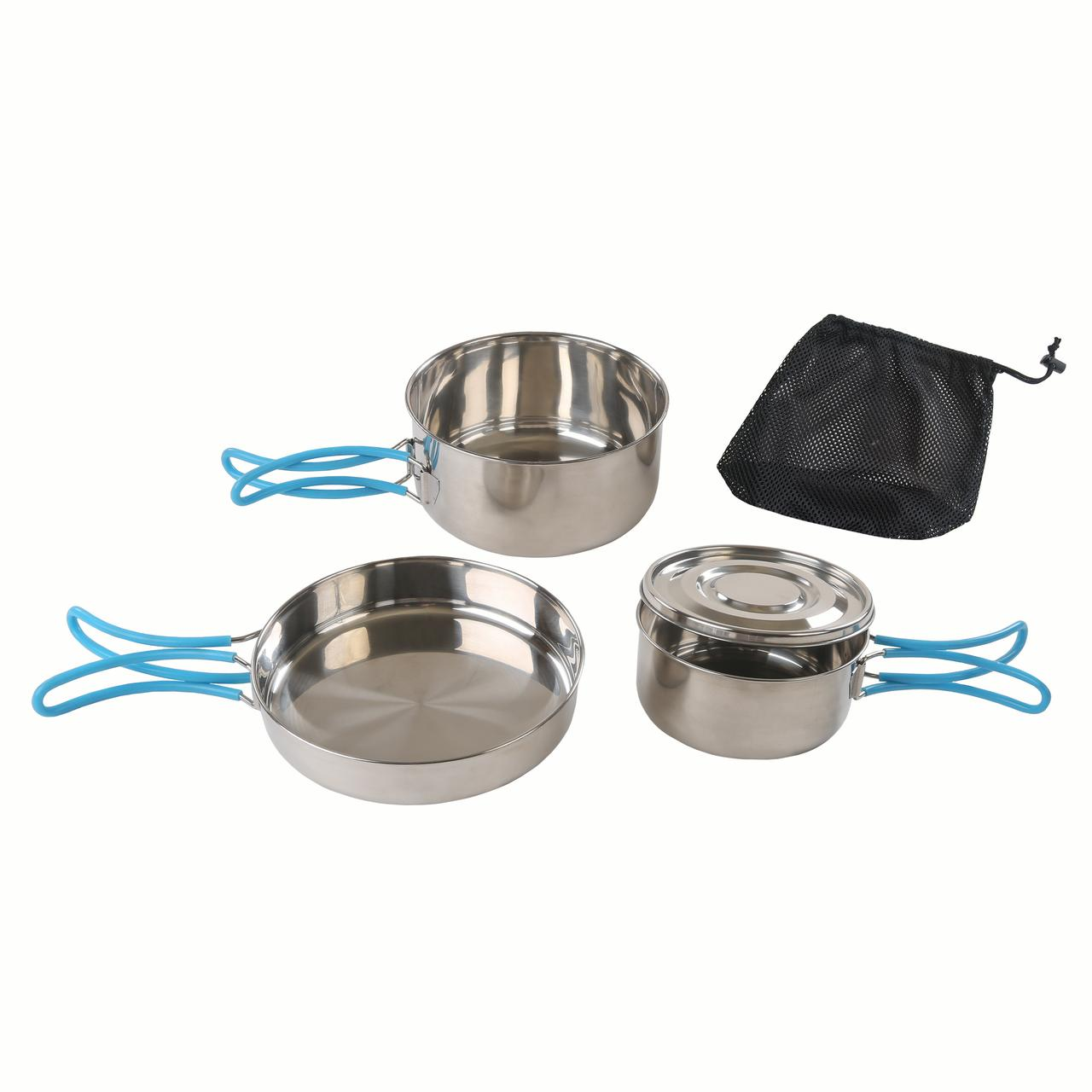 Stansport Stainless Steel Cook Set