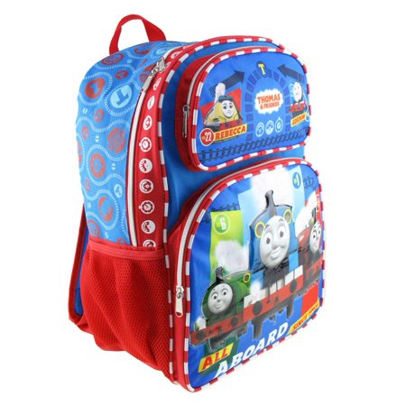 "Backpack - Thomas The Train - All Aboard 16"" New 008741 - image 1 de 2"