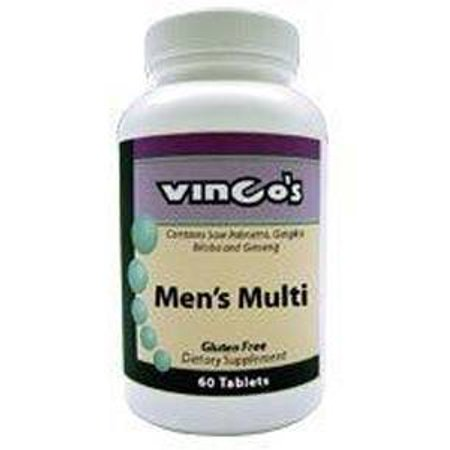 Vinco, Enzymes de W / Digestive MultiMen 60 tabs