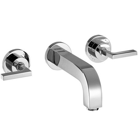 Axor Axor Citterio Two Handle Wall Mounted Roman Tub Faucet Axor Starck Two Handle