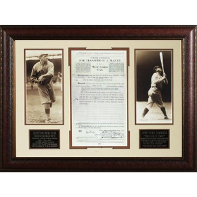ATHLON CTBL-012199 Babe Ruth Unsigned Boston Sox - New Yo...