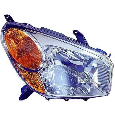 Aftermarket Headlight Lenses (2004-2005 Toyota RAV4  Aftermarket Passenger Side Front Head Lamp Lens and Housing 8110542280)